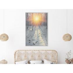Plakat - Frosty Sunset