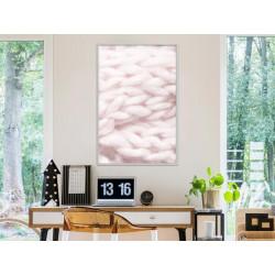 Plakat - Pale Pink Knit
