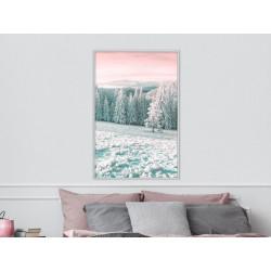 Plakat - Frosty Landscape