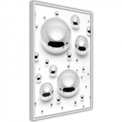 Plakat - Silver Drops