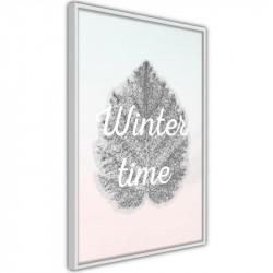 Plakat - Winter Leaf