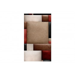 Fototapet - Leather puzzle