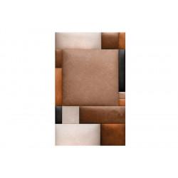 Fototapet - Leather blocks