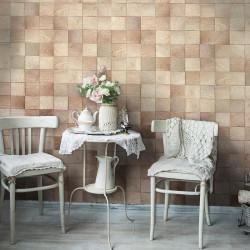 Fototapet - Wooden geometry