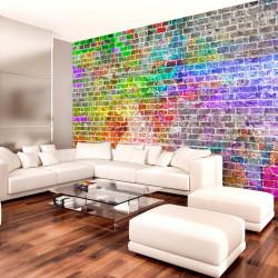 Fototapet - Rainbow Wall