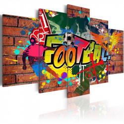 Billede - soccer (graffiti)