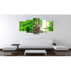 Billede - Overvejer Buddha