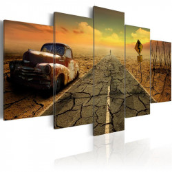 Billede - Difficult road