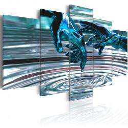 Billede - Vand cirkler