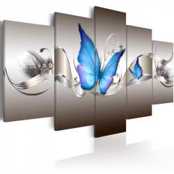 Billede - Blue butterflies