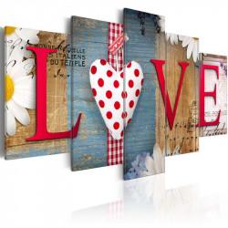 Billede - LOVE - handmade