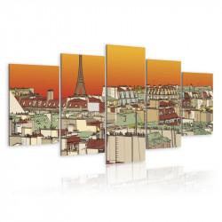 Billede - Parisian sky in...