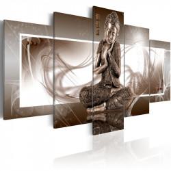 Billede - Grundende Buddha