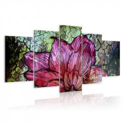 Billede - Flowery stained...