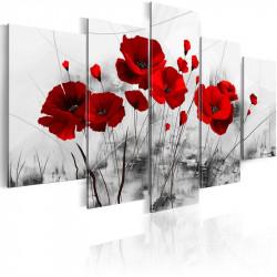 Billede - Poppies - Red...