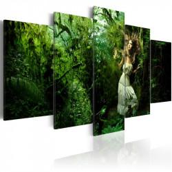 Billede - Lost in greenery