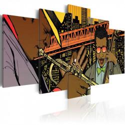 Billede - Jazz in comic