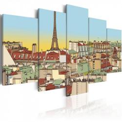 Billede - Idyllic parisian...
