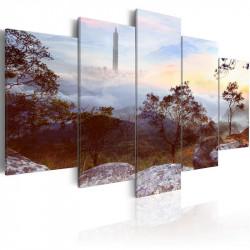 Billede - Tower and horizon
