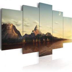 Billede - Sunrise i bjergene