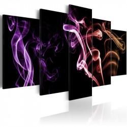 Billede - Farvet røg - 5 stk