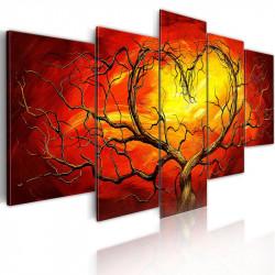 Billede - Brændende hjerte