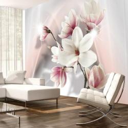 Fototapet - White magnolias