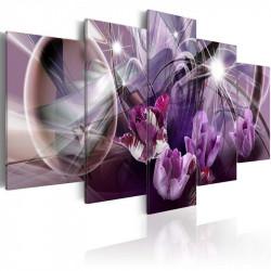 Billede - Purple of tulips