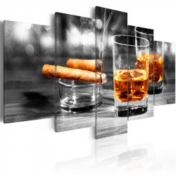 Billede - Cigars and whiskey