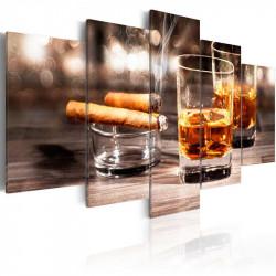 Billede - Cigar and whiskey