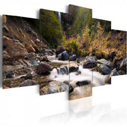 Billede - A waterfall in...