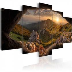 Billede - Sunset in the Valley