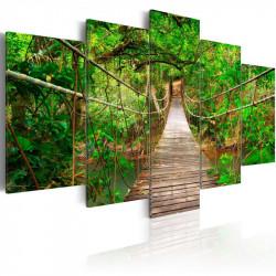 Billede - Walk among the trees
