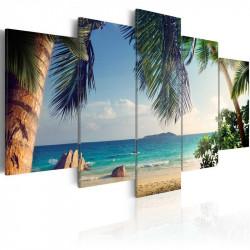 Billede - Under palm trees