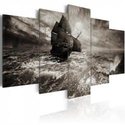 Billede - Ship in a storm
