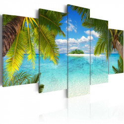 Billede - Paradise island