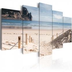 Billede - Walk by the sea