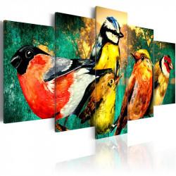 Billede - Birds Meeting
