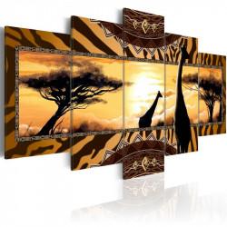 Billede - African giraffes