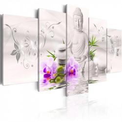 Billede - White Buddha