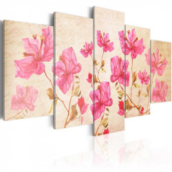 Billede - Flowers in Pink