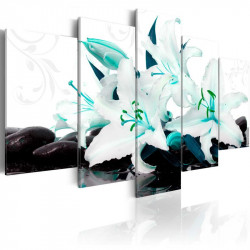 Billede - Turquoise lilies...