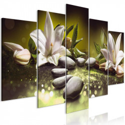 Billede - Lilies and Stones...