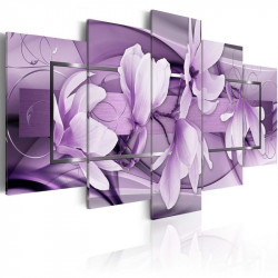 Billede - Purple Wave