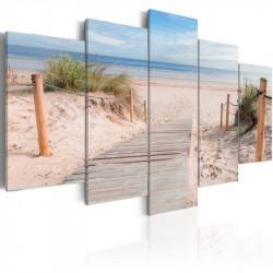 Billede - Morning on the beach