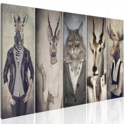 Billede - Animal Masks I