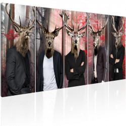Billede - People in Masks