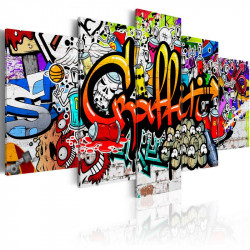 Billede - Colourful Style