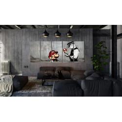 Billede - Mario Bros on...