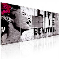 Billede - Banksy: Life is...